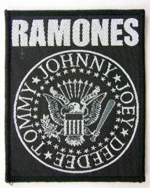 Ramones - 'Names' Woven Patch